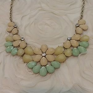 3/$20 Statement Necklace in soft warm tones